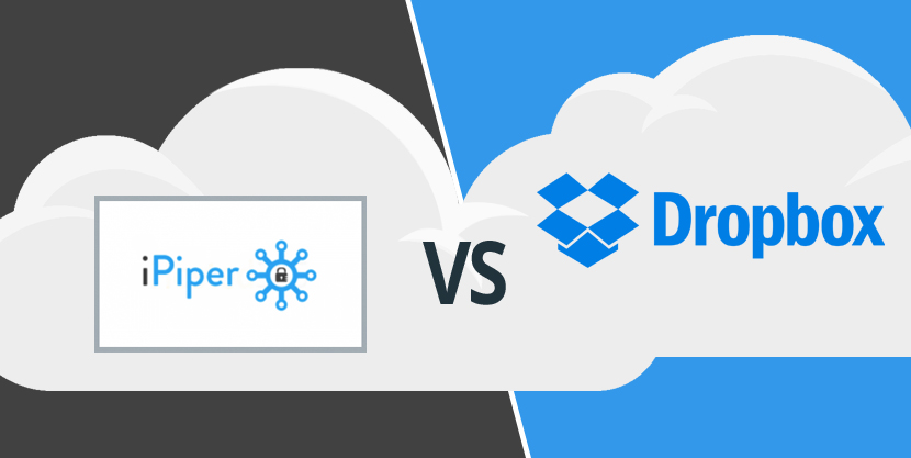 iPiper vs Dropbox: Choose the Best Cloud Storage Backup Solution for your Needs